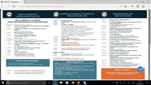 JPRS programme P1